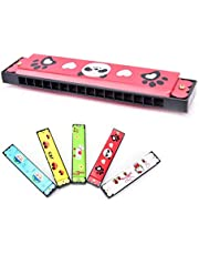Craft Expertise Plastic Harmonica Mouth Organ for Kids Children Musical Toy