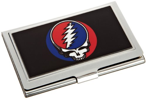 Buckle-Down Business Card Holder - Steal Your Face Black/Full Color - Small