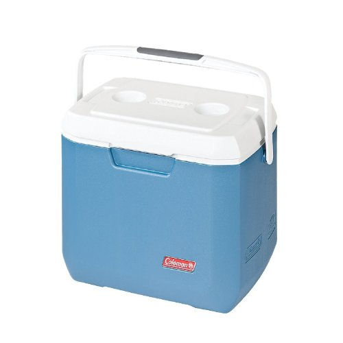 Coleman 3000005350 Cooler, 28 quart, Blue/White