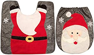 2018 New Festival Bathroom Products 2Pcs Set Fancy Snowman Toilet Lid and Carpet Bathroom Set Christmas Decoration Cool Must Haves 4 Year OGirl Gifts The Favourite Toys