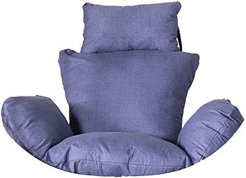 DYYD - Cojín para silla de huevo, cojín para silla de huevo, cojín para silla con columpio, nido de una sola cesta, colgante de huevo, hamaca, cojines extraíbles y lavables (color: D)