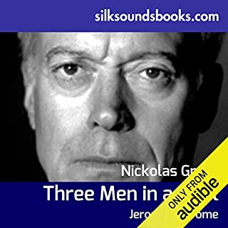 Three Men in a Boat     To Say Nothing of the Dog               By:                                                                                                                                 Jerome K Jerome                               Narrated by:                                                                                                                                 Nickolas Grace                      Length: 5 hrs and 58 mins     1 rating     Overall 5.0