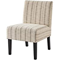Yaheetech Armless Accent Contemporary Casual Upholstered Slipper Chair