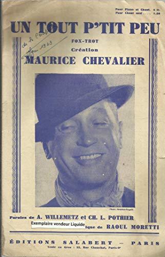 Un Tout P\'tit Peu - Fox Trot Chanté par Maurice Chevalier