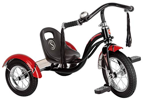 Schwinn Roadster Kids Tricycle, Classic Tricycle, Black