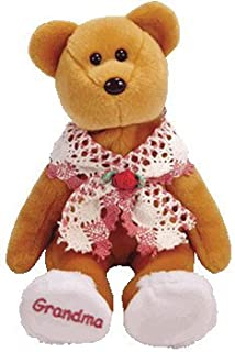 TY Beanie Baby - GRAMS the Grandmother Bear (Internet Exclusive)