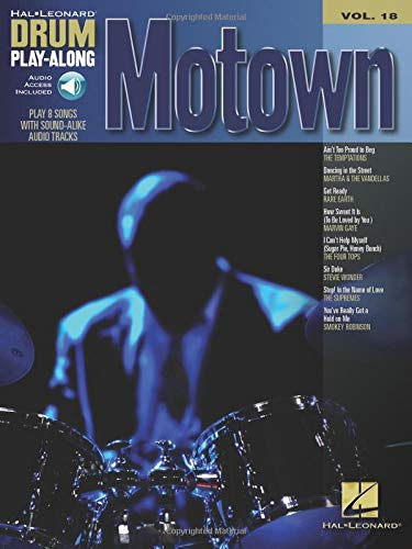 Drum Play-Along Volume 18: Motown -Play-Along Schlagzeug- (Book, CD): Songbook, Play-Along, (mit) Tonträger, CD für Schlagzeug