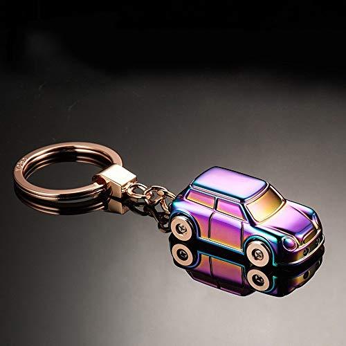 CHENDX Coche KeyFOB Modelo de automóvil Modelo Llavero LED Luz Auto Accesorios Llavero Llavero Pendiente Ligero Ligero Alloy Tenedor (Color : Color Without Box, Size : Free)