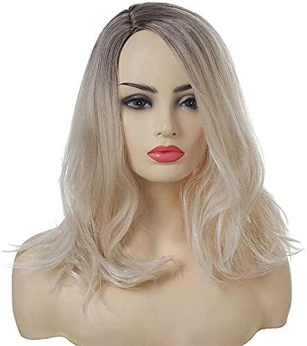 XZGDEN Wigs Hair Wig Max 63% OFF Women's Max 57% OFF Middle Gradient Par Colours