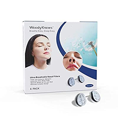 WoodyKnows Ultra-Breathable Nasal Filters