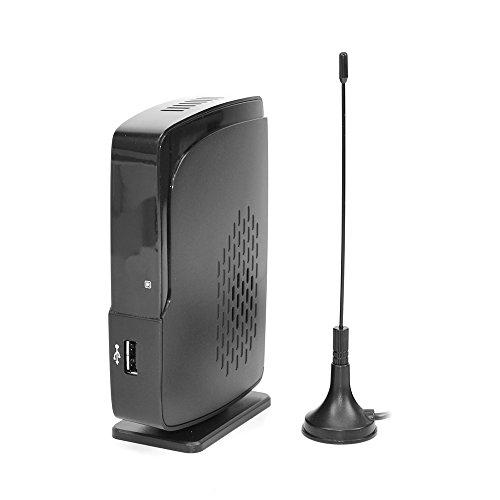 PNI TV901 digitale tuner DVB-T2 antenne inbegrepen, ondersteunt 999 TV-kanalen zwart