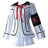 Anime Vampire Knight Cosplay Costumes Ruka Souen White Uniforms Halloween Carnival Party (M)