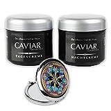 Anti Aging Tag & Nachtcreme CAVIAR BIO-VITAL 250 ml Pflegeset hochkonzentrierte Kaviar Anti-Falten...