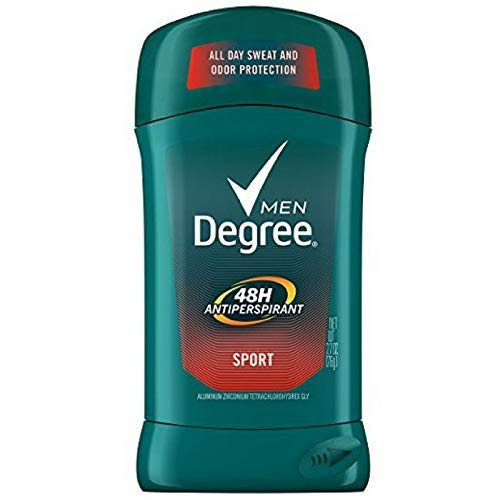 Degree Men Antiperspirant and Deodorant, Sport 2.7 Oz (Pack of 12) by Degree