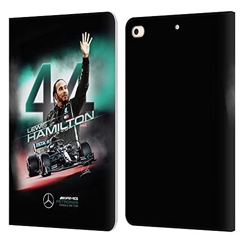 Head Case Designs Funda de piel tipo libro para Mercedes AMG Petronas F1 Team Car Graphics 2 de Lewis Hamilton compatible con Apple iPad 9.7 de 2017 y iPad 9.7 de 2018