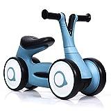 COSTWAY Laufrad, Balance Fahrrad, Balance Bike, Kinderlaufrad, Lauflernrad für Jungen und Mädchen, Kinder Fahrrad, Lernlaufrad ohne Pedal für Kinder von 1-3 Jahre (Blau)