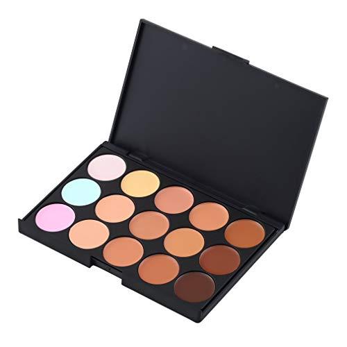 YLWL 15 Couleurs Maquillage Contour du Visage Concealer Camouflage Face Concealer Palette Multicolore