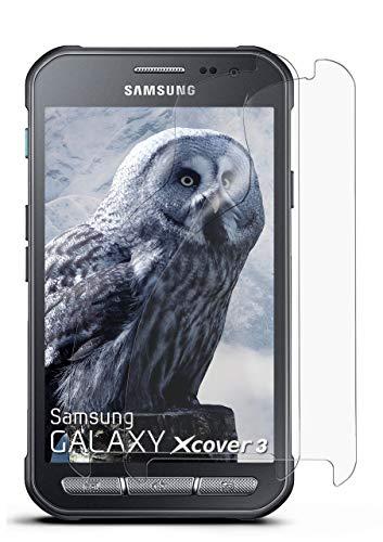MoEx® Anti Reflex Displayschutzfolie kompatibel mit Samsung Galaxy Xcover 3   Schutzfolie Matt Display Folie gegen Reflexionen, flexibel, 2X Stück