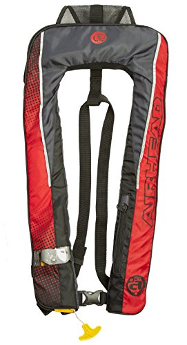 SLIMLINE Advanced Inflatable PFD, Automatic - 24g, (1H), Red