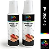OfficeTree Whiteboard Reiniger Spray 2 x 250 ml - Whiteboard Cleaner Spray zur Reinigung von Whiteboard Magnettafel Flipchart