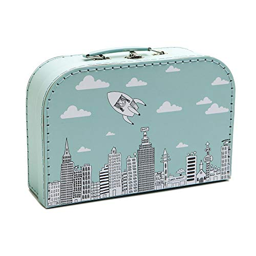 PELLIANNI Set of 3 Suitcases CITY/SPACE/UNICORN (PA09333)