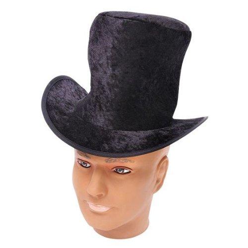 Enfants Enfants Velours Noir Victorien Déguisement Chapeau Accessoire