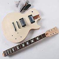 MUSOO プロジェクト エレクトリック ギター ビルダー キット DIY 全 アクセサリ付き ナチュラル