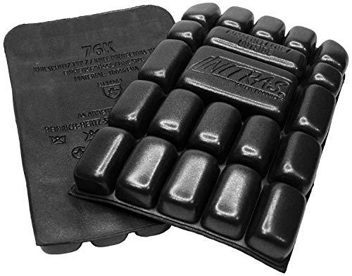 Nitras 76K - Rodillera para pantalones de trabajo - Rodillera Eva, color negro