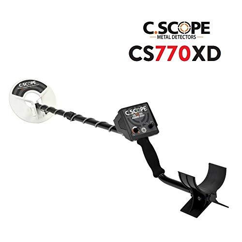 C. Scope c-scope CS770X D metal cercametalli Metal Detector Oro Monedas búsqueda