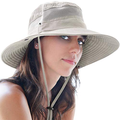 GearTOP Sun Hats for Women and Men | This Summer Cap is Your Best Choice for Sun Protection (Beige Fishing Hat)