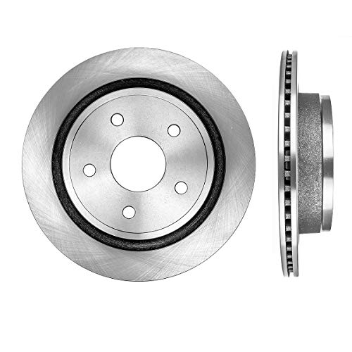 CRK15295 REAR Premium Grade OE 352 mm [2] Rotors Set [ fit Chrysler Aspen Dodge Durango Ram 1500 ]
