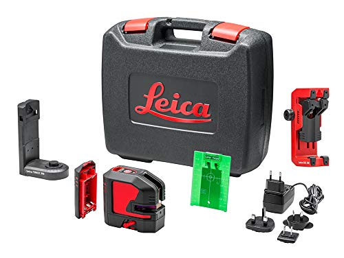 Leica Geosystems 864420 AR864420, Negro, Rojo