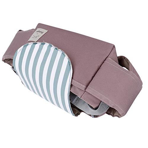 ZHHZ Organizador de cochecito de bebé – Organizador universal para colgar en el cochecito de bebé, bolsa de almacenamiento para cochecitos AccessoryGreen Stripe