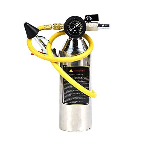XIAOWANG WANGYUJIE Coche Aire Acondicionado Tubería Limpieza Botella A/C Kits de Descarga Ajuste Ajuste para Herramientas limpias (Color Name : Black)
