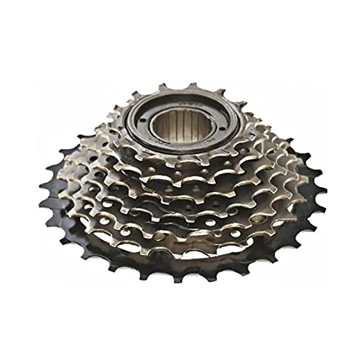 Cassette de velocidad de ciclismo Bici de rueda libre rueda dentada dientes 7 velocidades girando engranaje reemplazo deportes al aire libre