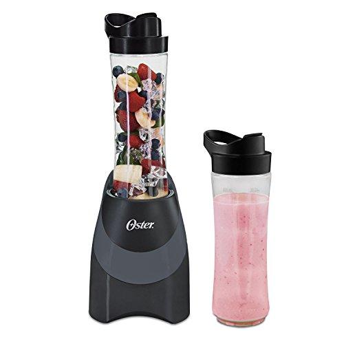 Oster Blend-N-Go Myblend Personal Blender with 2 Sport Bottles, Black