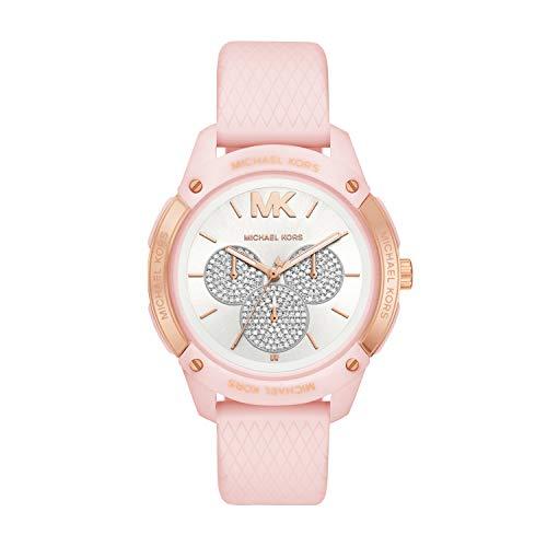 Michael Kors - Reloj de Cuarzo de Silicona para Mujer MK6702