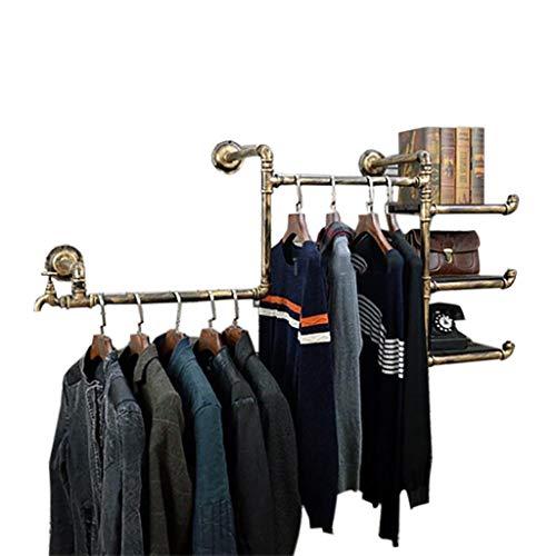 Coat Racks GBY kapstok hanger-presentatiestaander kledingrek wandhangers smeedijzeren retro buisframe