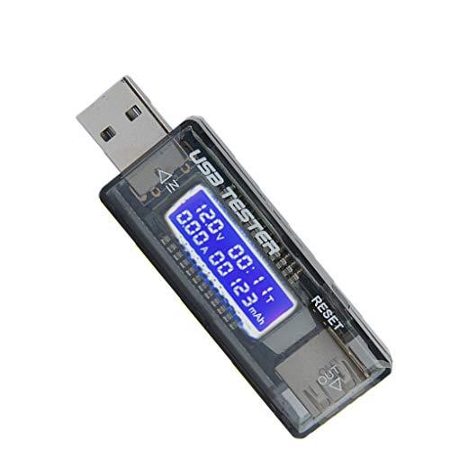 Handy Fast Charge USB-Detektor USB-Tester Tester Handy-Ladegerät Tester Digitalanzeige USB Stromvoltmeter Tester USB Digital Display Amperage Meter