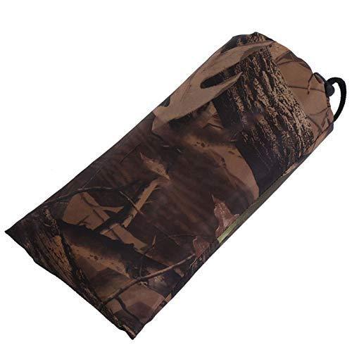 Army Camo Tent Tarp Tarp Cover Draagbare luifel Cover Waterdicht Duurzaam met camouflageontwerp voor kamperen(2 * 1.5m)
