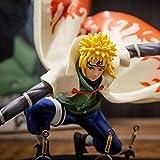 Naruto Namikaze Minato PVC figura de acción pop modelo coleccionable adornos de decoración de juguet...