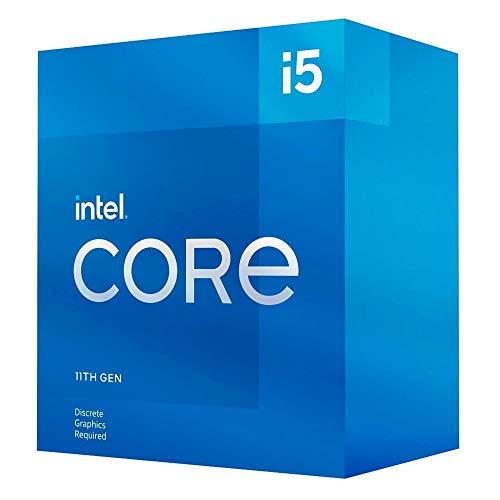 Intel Core i5-11400F - Processore desktop da 11 generazione (clock di base: 2.6 GHz Tuboost: 4.4 GHz, 6 core, LGA1200) BX8070811400F