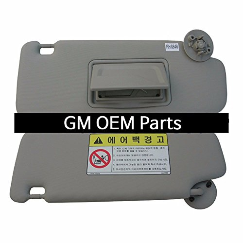 Chevrolet Interior Inside Sun Visor Shade RH Gray for GM Sonic 2012+ OEM Parts