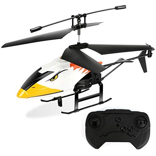 E-More Ferngesteuerter Hubschraube RC Helikopter Ferngesteuerter Helicopter, Einfach zu Fliegen, Elektrischer Gyro, LED-Beleuchtung, USB-Ladekabel, nur Indoor Mini Hubschrauber RC Spielzeug
