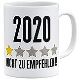 OM3® Jahr 2020 - Nicht zu empfehlen Tasse | Keramik Becher