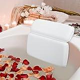 HOUT Almohada de Baño | Cojín para Bañera de baño con 7 ventosas | Accesorios Bañeras...