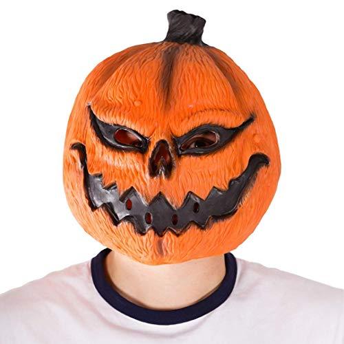 Bodysocks - Latex Gummi Kürbis Tier Halloween Kostüm Maske