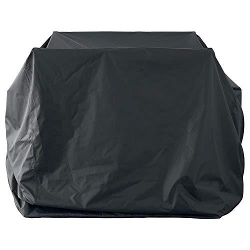 HR Garten-Rattan-Möbel-Abdeckungs-Patio-wasserdichter staubdichter Sunscreen-Tisch-Rechteck im Freien, 3 Größen (Color : Black, Size : 145x145x120cm)