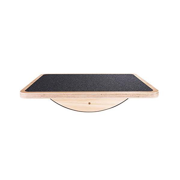 StrongTek Professional Wooden Balance Board, Rocker Board, Wood Standing Desk Accessory,...