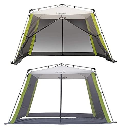 WDZJM Tienda, portátil al Aire Libre 5-8 Personas fáciles de Instalar Familia Camping 4 Temporadas Mochila Playa Tienda (Color : A)
